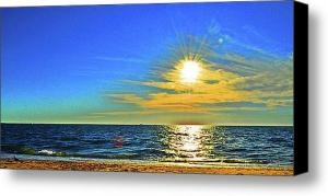Nantucket Sunset Series Reformatted for Large Format Printing